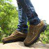 Men Lace Up Suede Wearable Casual Shoes - OAK BROWN