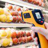 GM320 Non-contact LCD IR Laser Infrared Digital Thermometer - SAFFRON