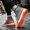 Outdoor Breathable Anti-slip Casual Shoes for Men - TIGER ORANGE