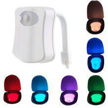 Toilet Seat Sensor Light Bathroom LED Nightlight