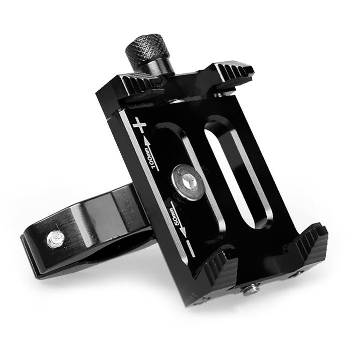 Outdoor Universal Cell Phone Holder for Motorcycle Bicycle - BLACK