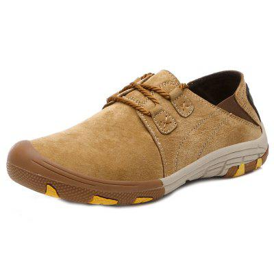 Outdoor PU Casual Flat Shoes for Men