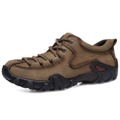 Valódi bőr Casual Wearable Hiking Shoes for Men