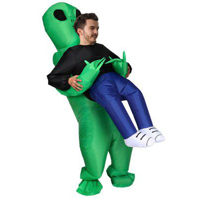 Inflatable Pick up Alien Costumes Cosplay Party Toy