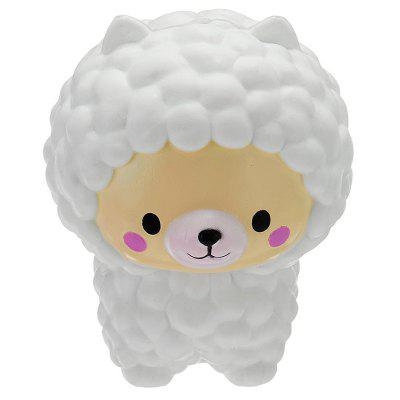 Sheep Shape PU Foam Squishy Stress Toy