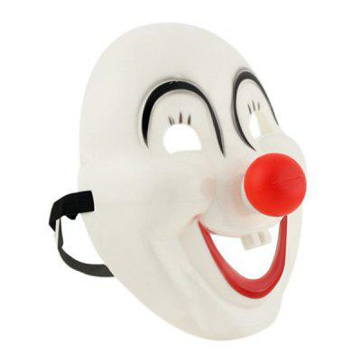 Clown Red Nose Cosplay Masque pour Halloween Cartoon Party Circus