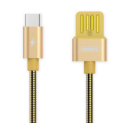 Remax RC - 080 a Silver Serpent Series Type-C Charger Data Cable