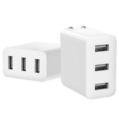 3-port USB Charger Power Adapter CN Plug 1pc