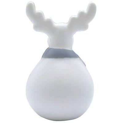 Pomalý odraz Wapiti Soft Pinch Roztomilý Cartoon Squishy Toy