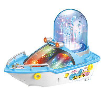 Musical Fountain Ship for Kids