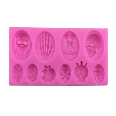 New Halloween Star Silicone Cake Mold