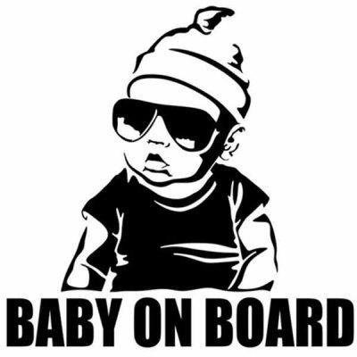 Baby on Board Vehicle Decal Window Sticker