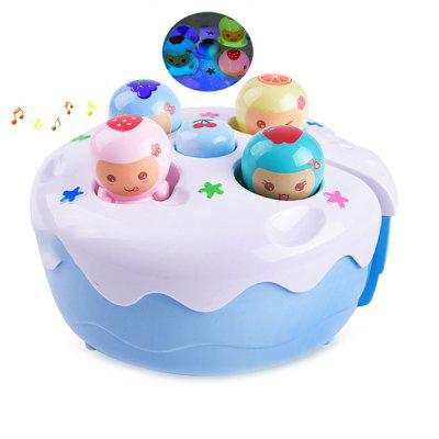 Child Puzzle Electric Cake Cartoon Music Game Machine