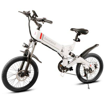 Samebike 20ZANCHE 250W 10Ah Battery Smart Folding Electric Bike Image