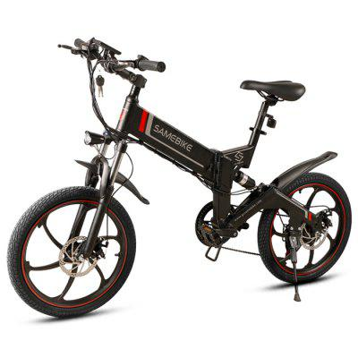 Samebike 20ZANCHE Outdoor 10Ah Battery Smart Folding Electric Bike Image