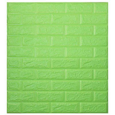 Environmental 3D Stereoscopic Brick Wall Paper Sticker