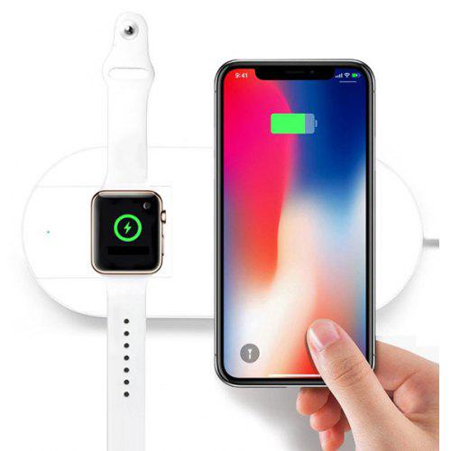 2-in-1 Wireless Charging Pad for iWatch iPhone