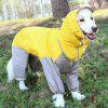 Waterproof Dog Raincoat / Bodysuit Clothes for Pet - LAWN GREEN