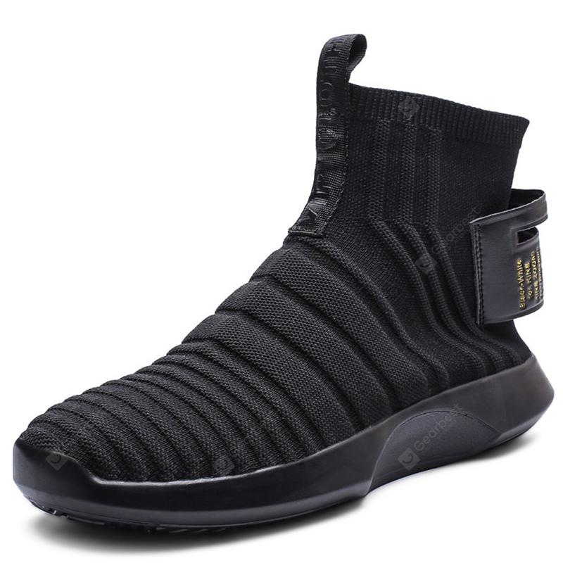Trendy Breathable High Top Leisure Boots for Men