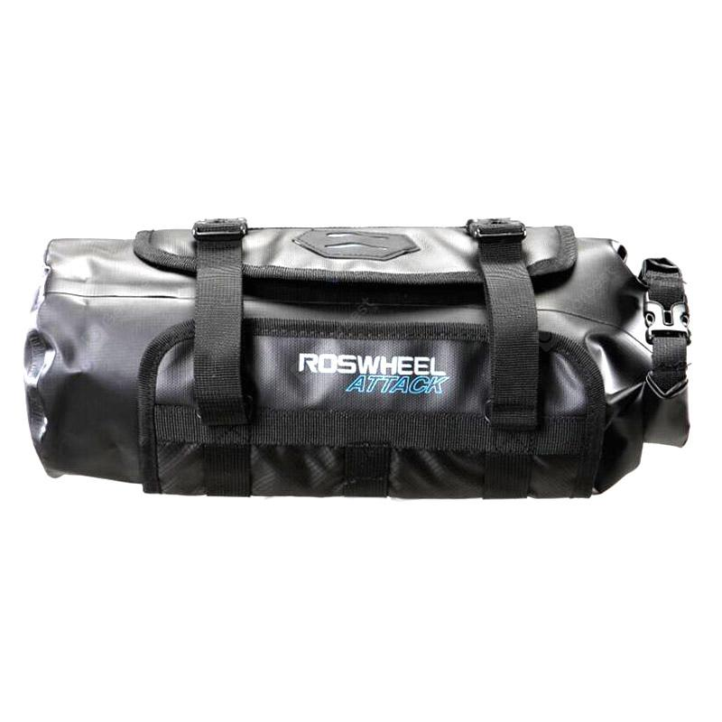 ROSWHEEL 111369 Waterproof Bike Bag for Cycling - BLACK