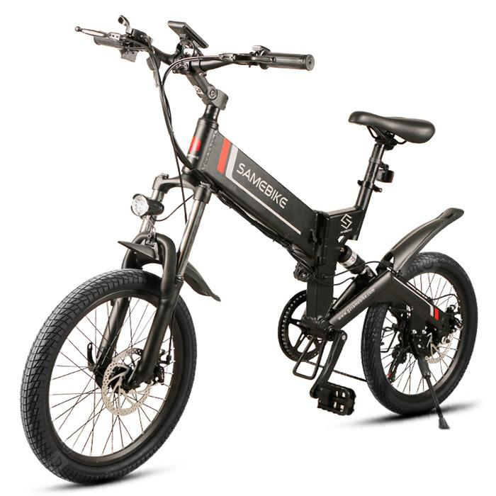 Samebike 20ZANCHE 250W 10Ah Battery Smart Folding Electric Bike