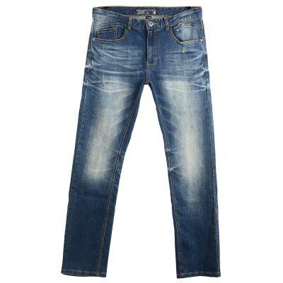 A LA MASTER Men Comfort Relaxed Fit Jeans