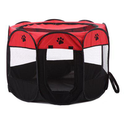 Portable Foldable Dog Kennel Pet Cage Tent