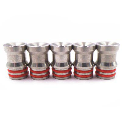 510 Stainless Steel Drip Tip 5pcs