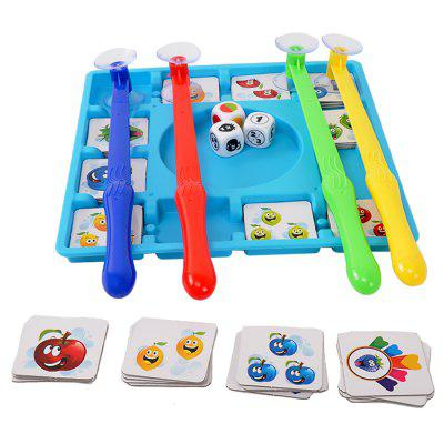 Intelligent Fruit Card Game Competition Battle Board Toy Set