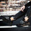 Large Size Casual Sneakers for Men - BLACK