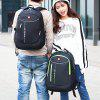 0635 Men's Large Capacity Backpack Business Laptop Casuall Bag - SEAWEED GREEN