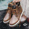 Men Trendy British Style Anti-slip Boots - BROWN BEAR