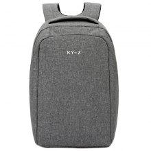 Fashion Cotton Linen Men's Backpack for Travel Daily Life