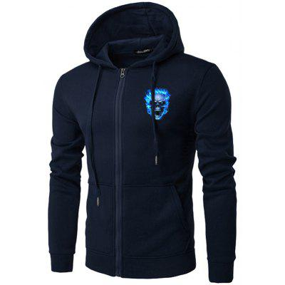 Creative Printed Fashion Daily Hoodie for Man
