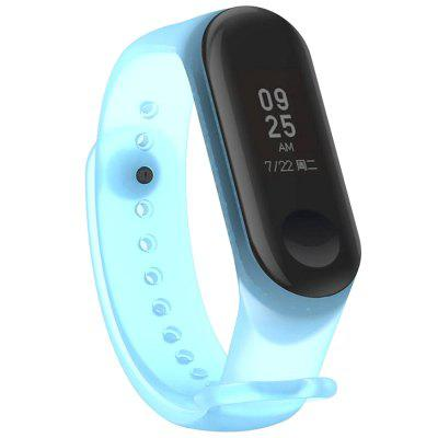 Transparent Comfortable Smart Watch Band for Xiaomi Mi Band 3