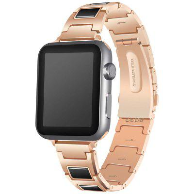 I Design Stainless Steel + Ceramic Strap for Apple Watch 42mm