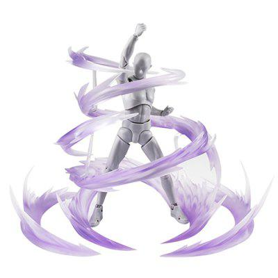 Anime Star Soul Effect Burning Flame for Bandai Saint Seiya Gundam