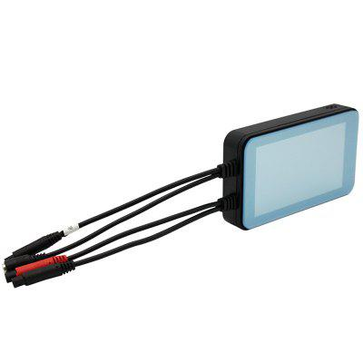 MT001 4.0 inch IPS Motorcycle Biker DVR Recorder Camera Image