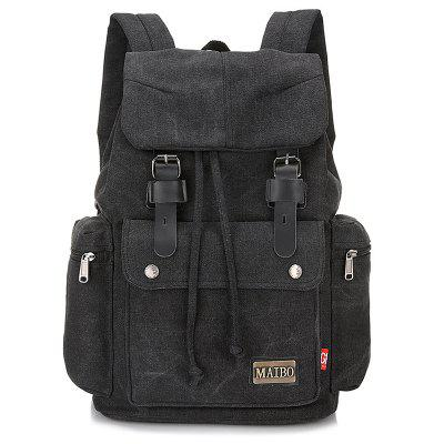 Fashionable Durable Outdoor Canvas Backpack