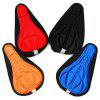Bicycle Cushion Thicken Saddle Mountain Bike Riding Equipment - COBALT BLUE