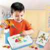 Kids Hands-on Disassembly Screw Toolbox Electric Drill Set - ORANGE
