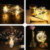 150-LED Fireworks Style Copper Wire String Light - WHITE