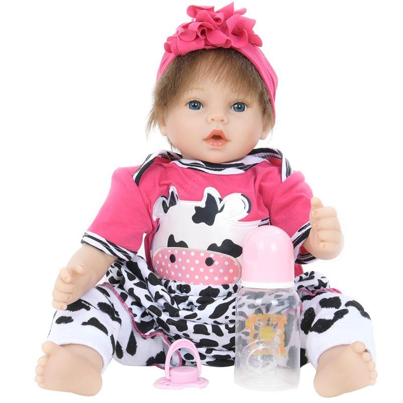 Reborn Baby Training Doll Prop Ornament Toy - MULTI