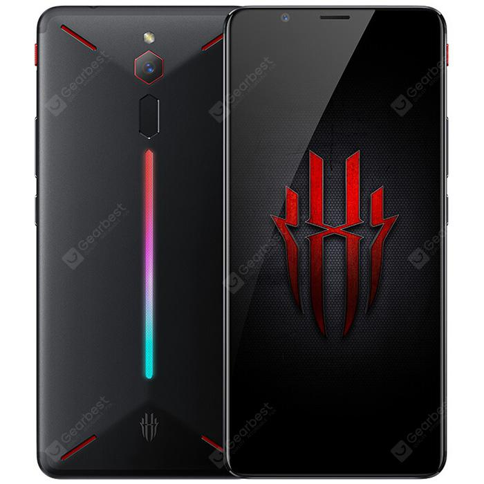 Nubia Red Magic 4G Phablet 8GB RAM English and Chinese Version - BLACK 8+128GO