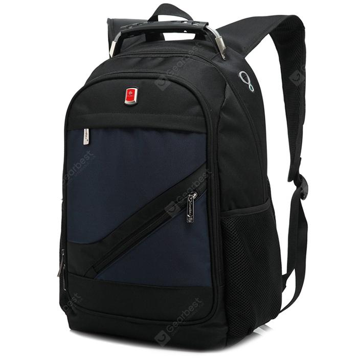 Coolbell Large Capacity Backpack / Laptop Bag - DARK SLATE BLUE from Gearbest Image