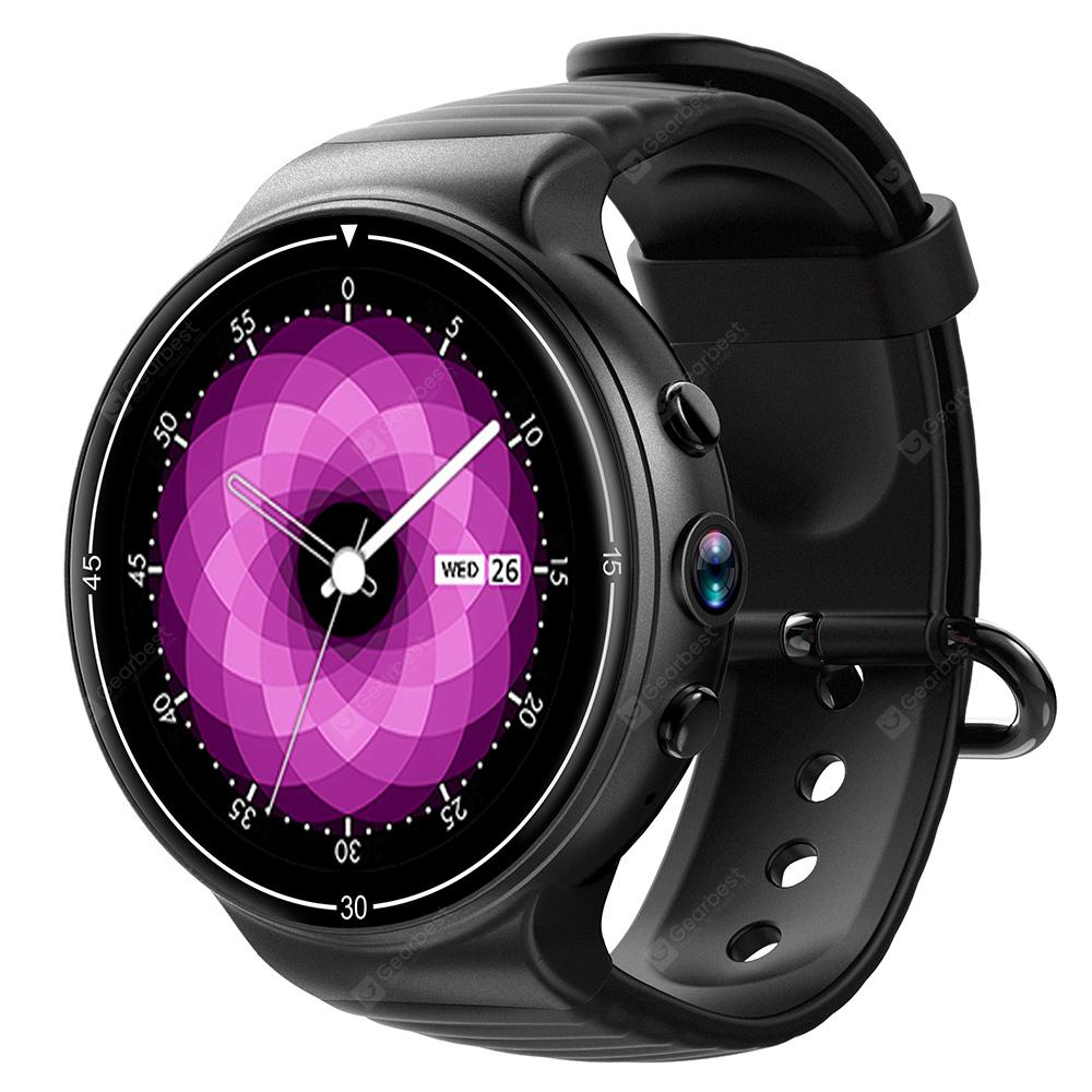 IQI I8 4G Smartwatch Phone - BLACK from Gearbest Image