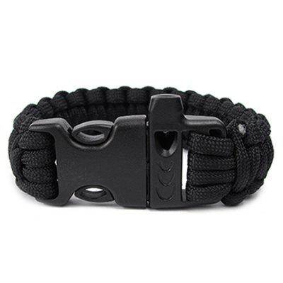 Outdoor 7-core Parachute Cord Multifunctional Survival Bracelet