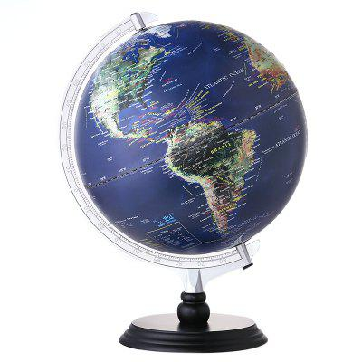 12 inch Illuminated Blue Ocean Globe Educational Toy