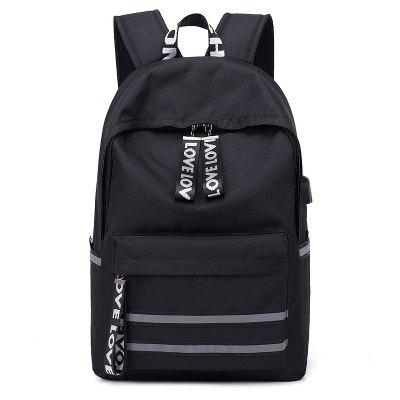 Fashion Canvas Multifunction Backpack
