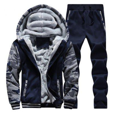 Thickening Winter Tracksuit for Men